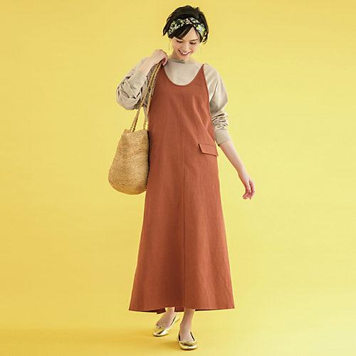 ALLおうちで洗える 活躍ワンピース【LEE】