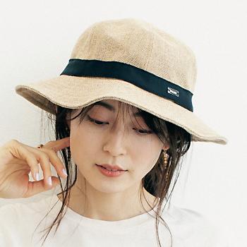 ラフィア風ハット/ORCIVAL
