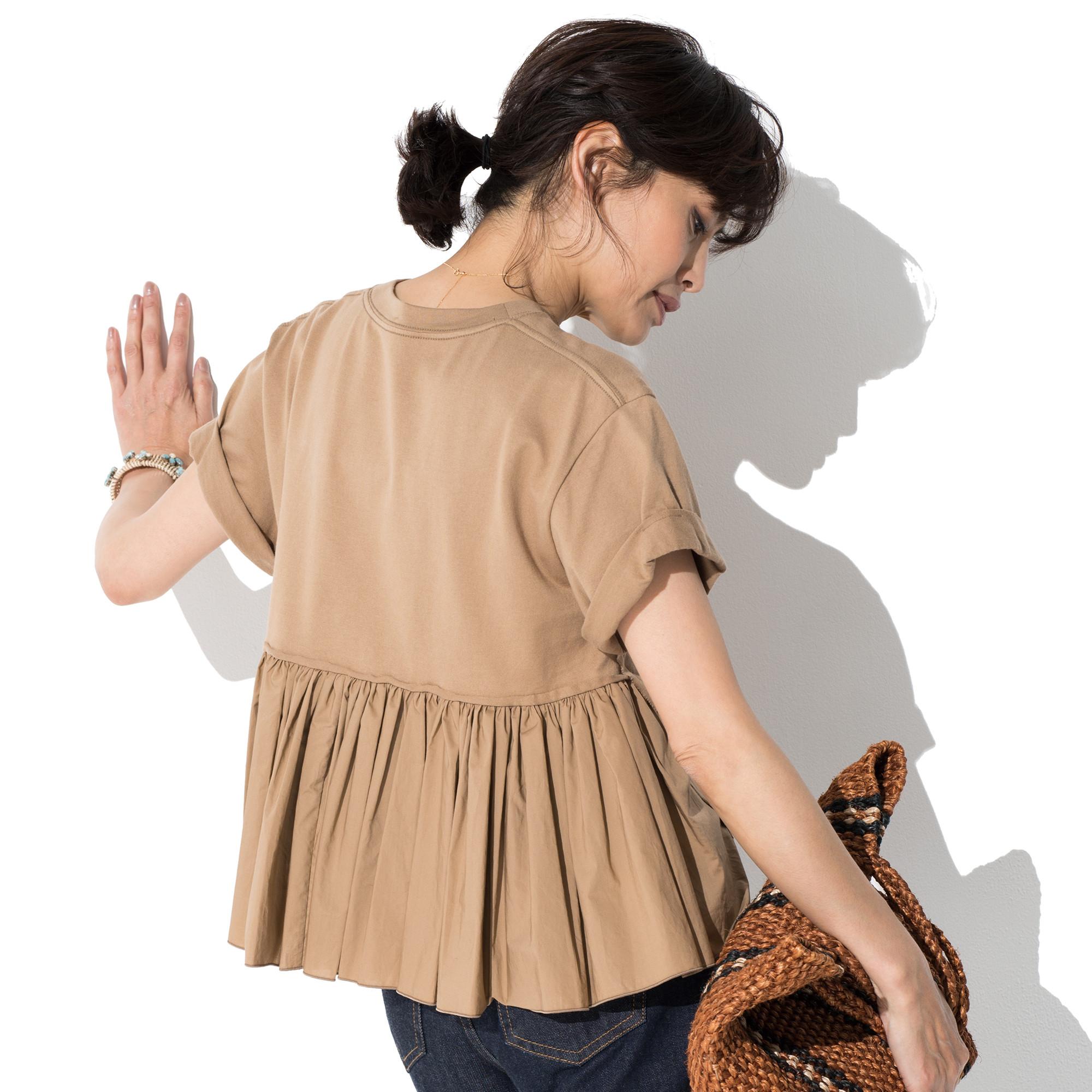 50代 ファッション お手本 T-シャツ