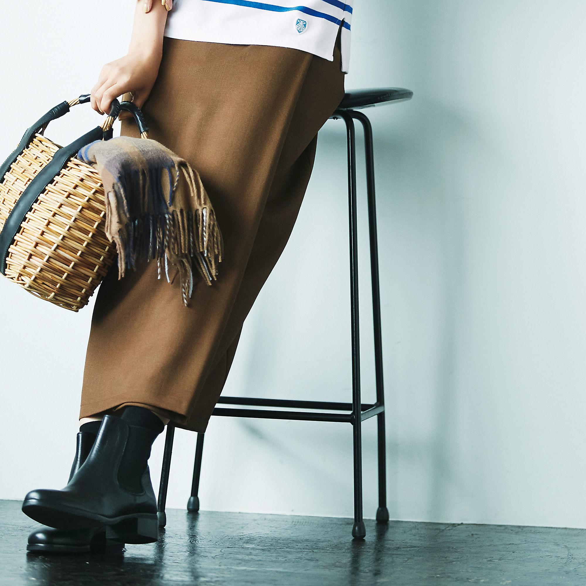 「M7days」のストレッチラップ風スカート