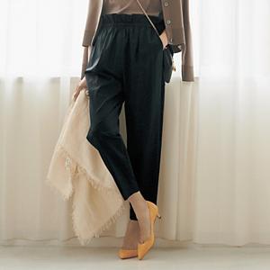 【洗える】Aライン デニムフレアスカート ¥15,180