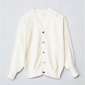 【洗える】綿シルクドルマンスリーブカーディガン ¥13,750