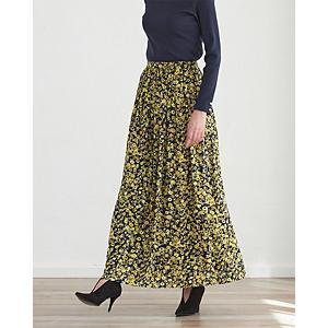 フラワープリントスカート¥16,500+税