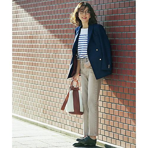モデル身長171cm:サンプルサイズ着用(商品より若干丈長め)/Marisol掲載