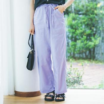 Lee/綿麻リラックスペインターパンツ