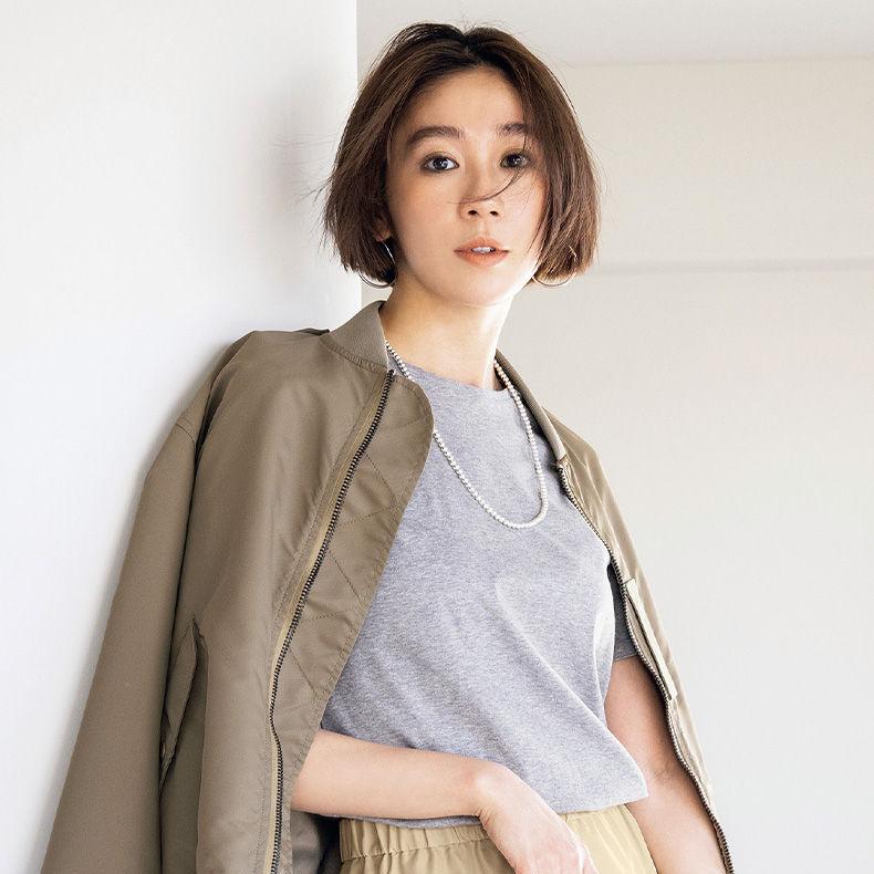"""「痩せた?」と言わせる""""アラフォーのための大人Tシャツ""""はこれだ!"""