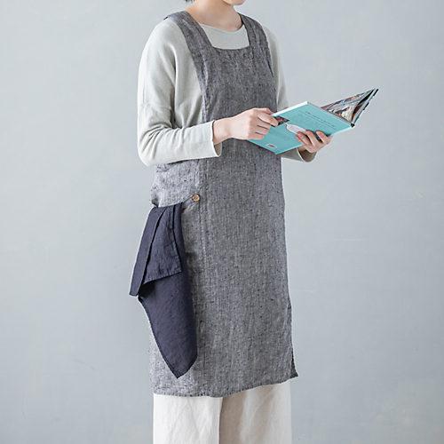 紐を結ばなくても着れる仕様(写真カラーはブルーパストラル)