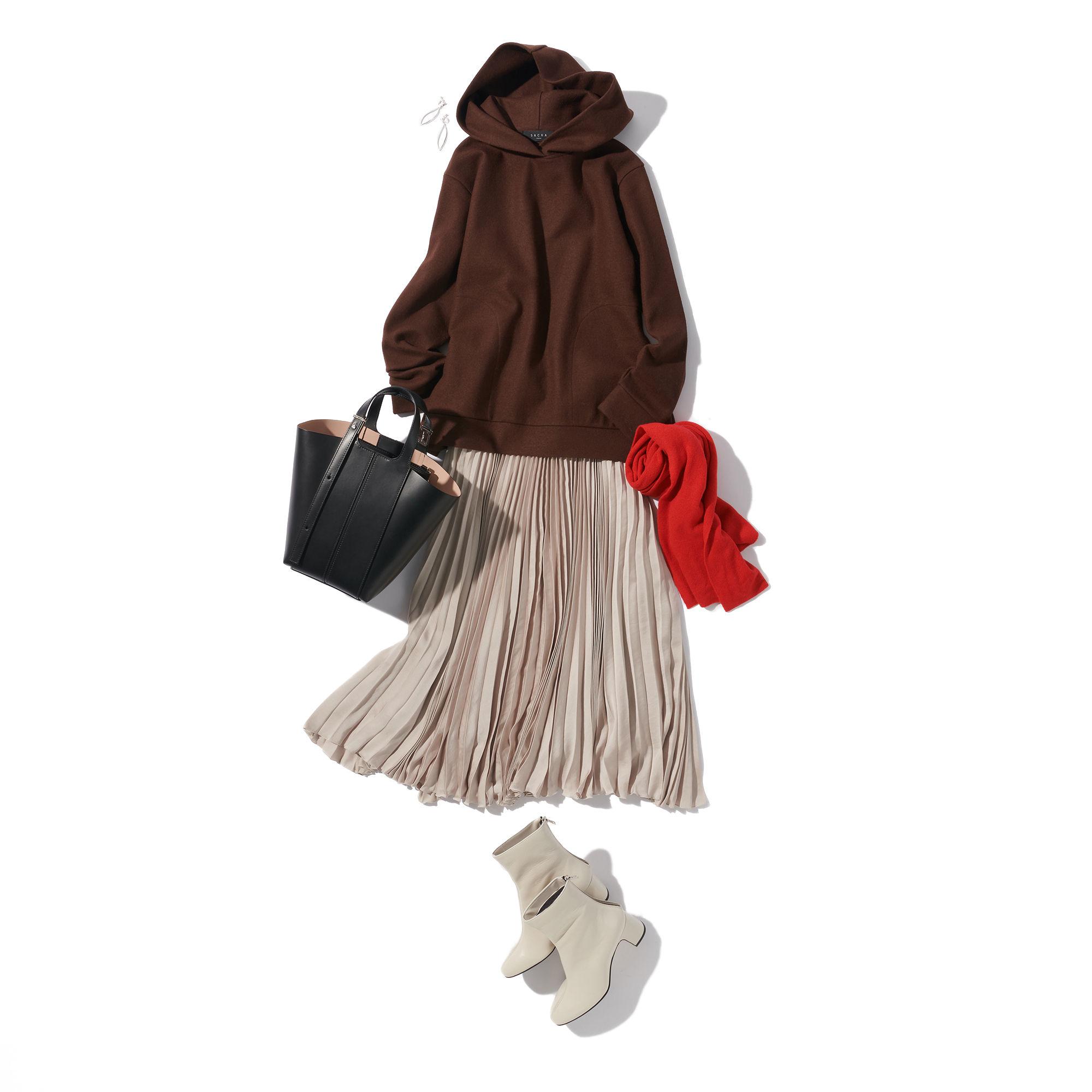 M7days (エムセブンデイズ)エレガントプリーツスカート