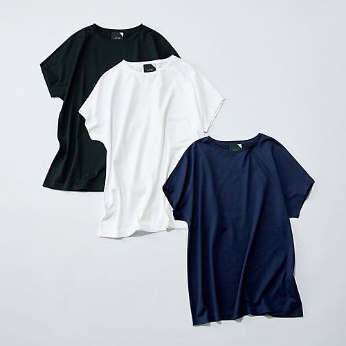 村山佳世子×ATON キャップスリーブTシャツ