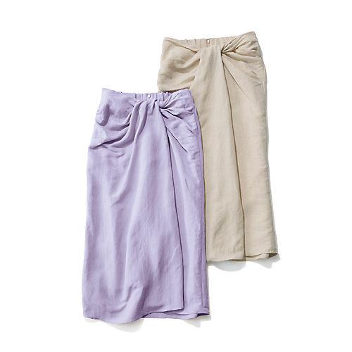 GALLARDAGALANTE×éclat ツイストタイトスカート