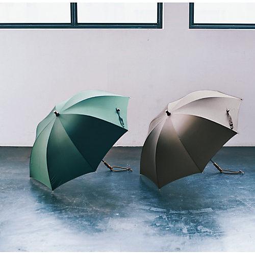 傘の全長は68cm、重さは270g。広げると丸みのあるフォルムに