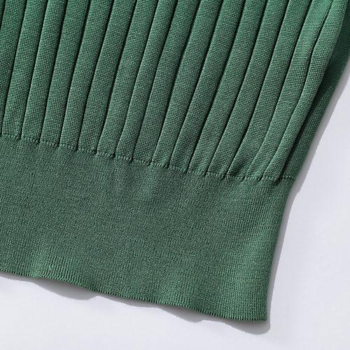 キックバック性のあるのゴムを使用した裾で伸びにくい