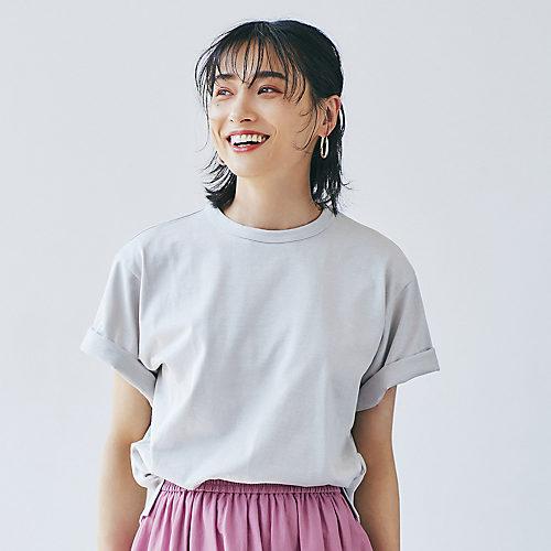 12closet【洗える】ボックスシルエットTシャツ¥7,150ポイント1画像モデル