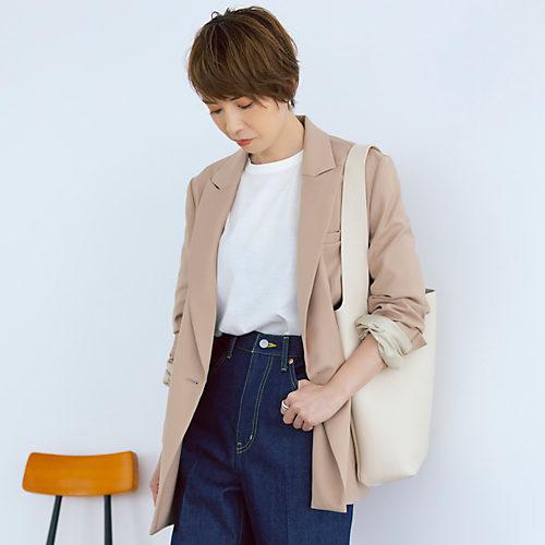 M7days for office 【吉村友希さんコラボ】ダブルジャケット
