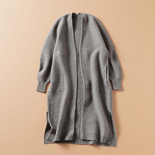 世界も認める工場と作ったコートのような暖かさの軽量ニットカーディガン【STANDARD BOOK】