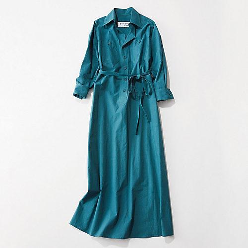 BLUEBIRD BOULEVARD/【徳原文子さん別注】シャツドレス/¥39,000+税