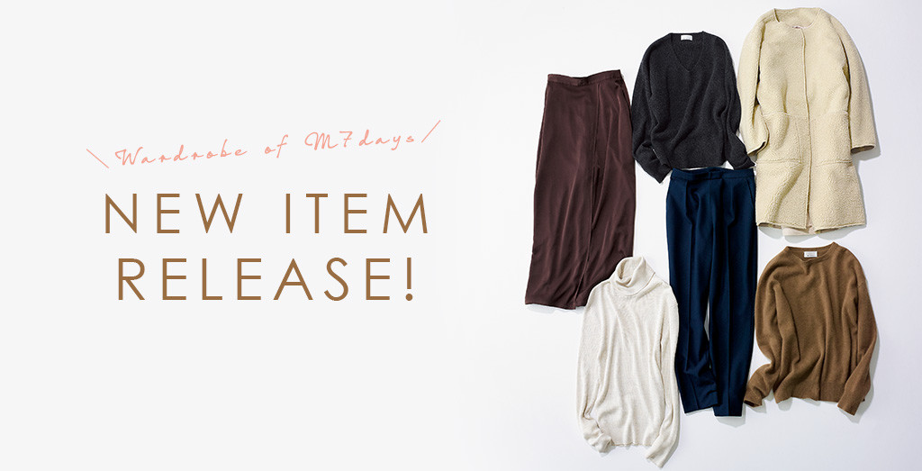 M7days | Wardrobe of M7days NEW ITEM RELEASE!