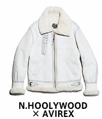 N.HOOLYWOOD �~ AVIREX