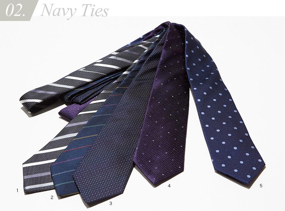 Navy Ties