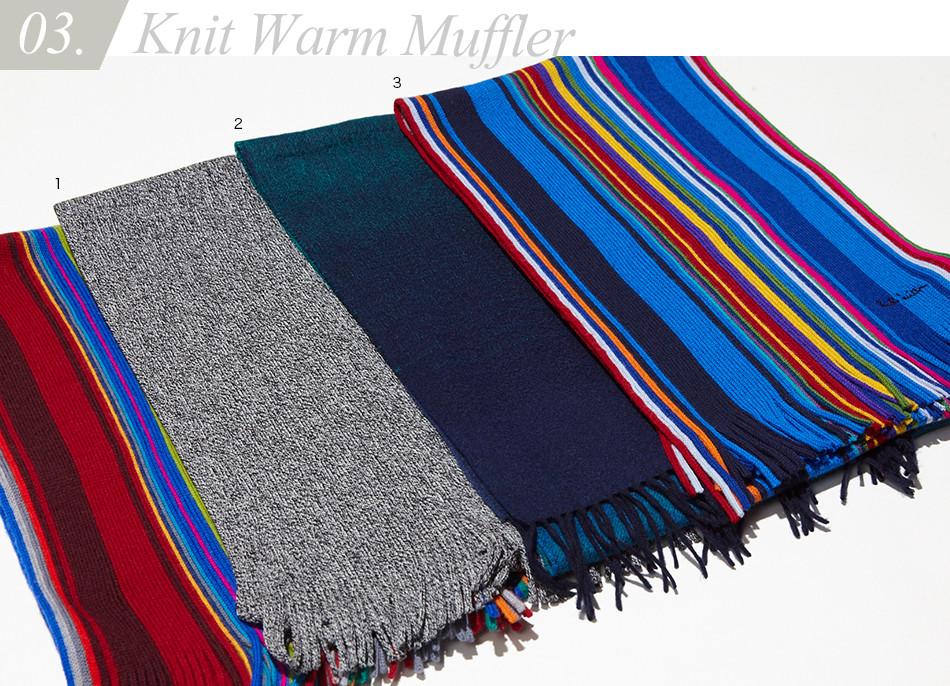 Knit Warm Muffler