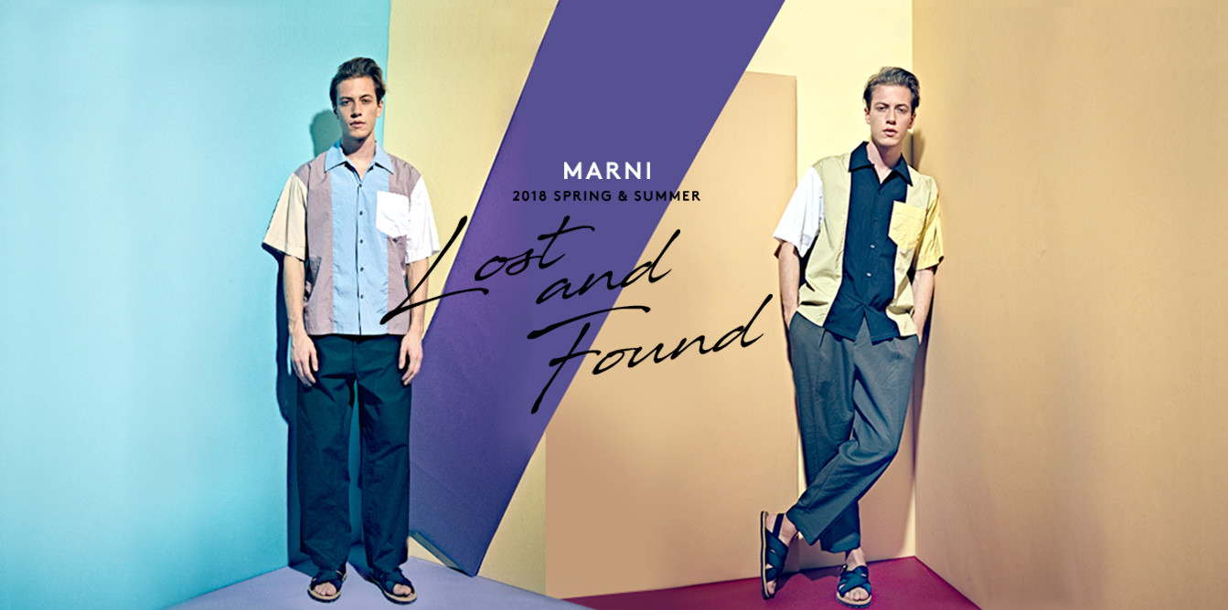 MARNI SS18 COLLECTION