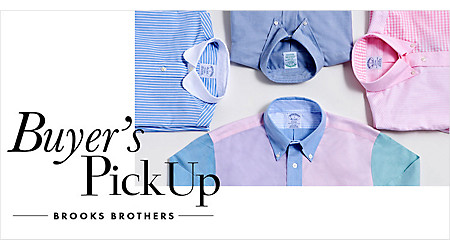 Buyer's PickUp -BROOKS BROTHERS-