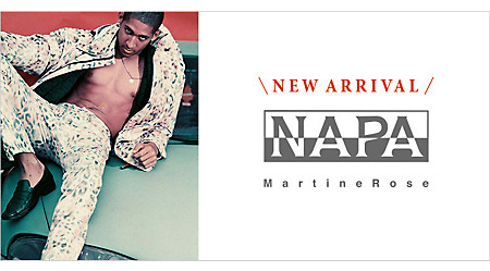 NAPAPIJRI MARTINE ROSE AW19 COLLECTION
