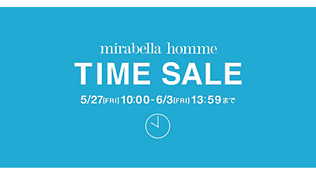 mirabella homme TIME SALE