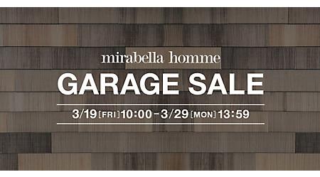 mirabella homme GARAGE SALE