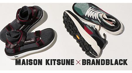 MAISON KITSUNE × Brandblack