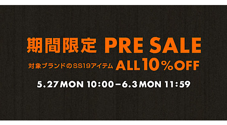 mirabella homme 期間限定プレセール<ALL10%OFF>