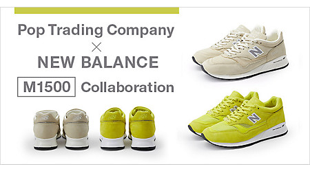 Pop Trading Company × NEW BALANCE「M1500」発売!