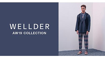 話題の新ブランドWELLDER(ウェルダー)19秋冬コレクション先行予約受付中!