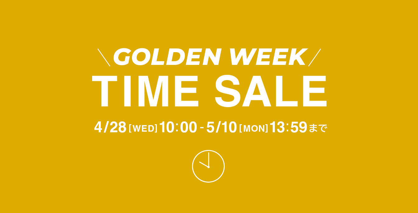 mirabella homme GOLDENWEEK TIME SALE