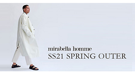 SS21 NEW SPRING OUTER