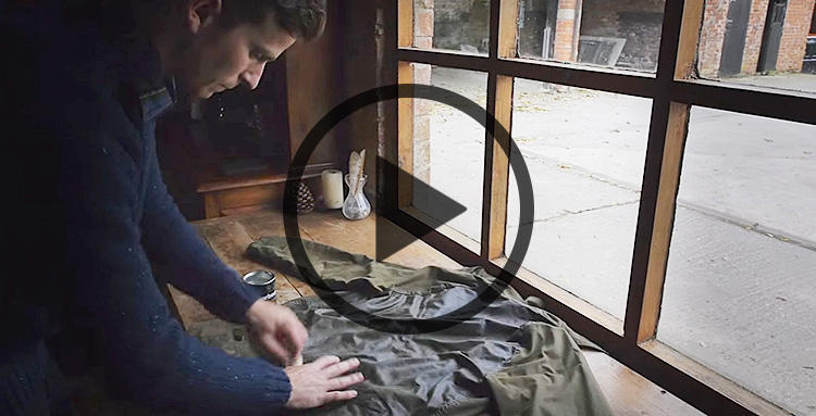 How To Re-wax Your Jacket