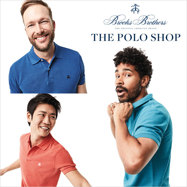 BROOKS BROTHERS【THE POLO SHOP】