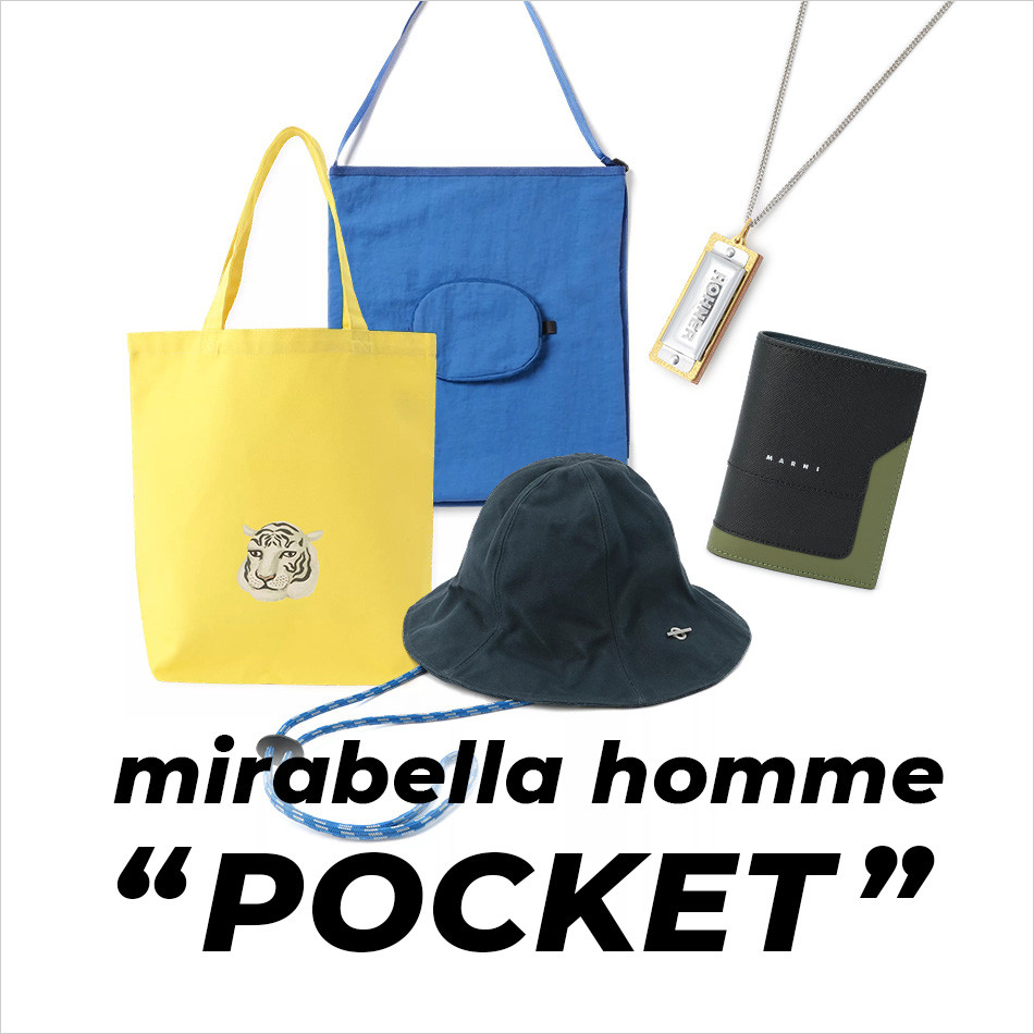 "mirabella homme""POCKET"""