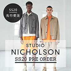 STUDIO NICHOLSON SS20 PRE ORDER