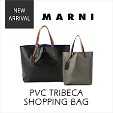 MARNI|PVC TRIBECA SHOPPING BAG