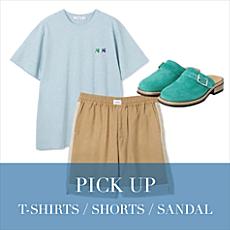 SUMMER ITEM<T-SHIRTS/SHORTS/SANDAL>