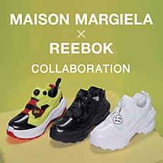 MAISON MARGIELA × REEBOK COLLABORATION