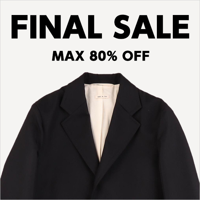 FINAL SALE MAX80%OFF
