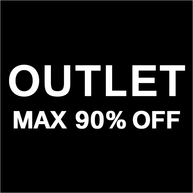 春夏/秋冬 OUTLET MAX90%OFF