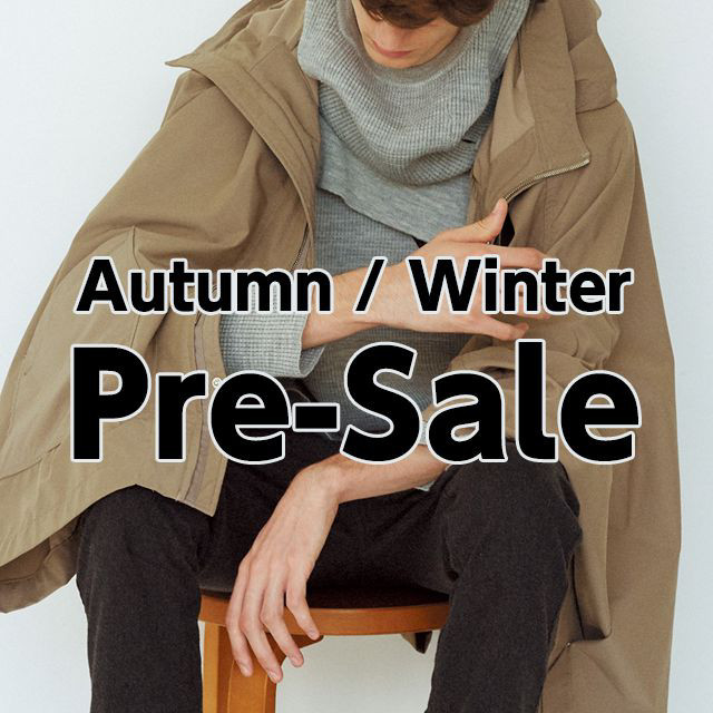 Autumn/Winter Pre-Sale