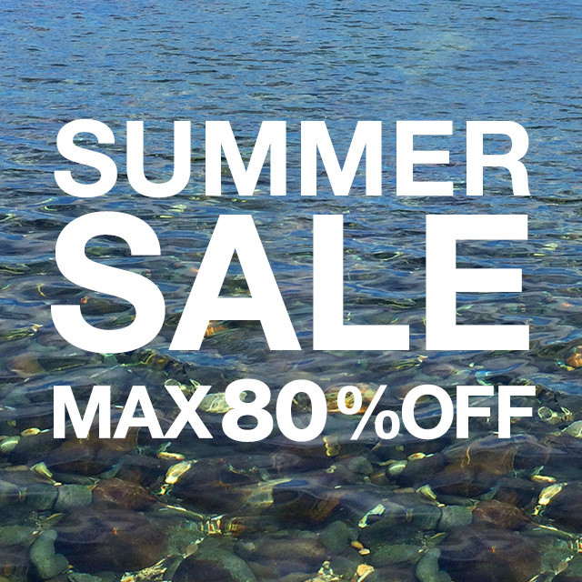 SUMMER SALE MAX 80% OFF