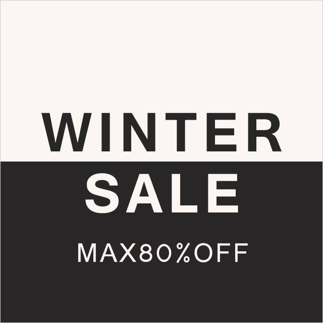 WINTER SALE MAX80%OFF