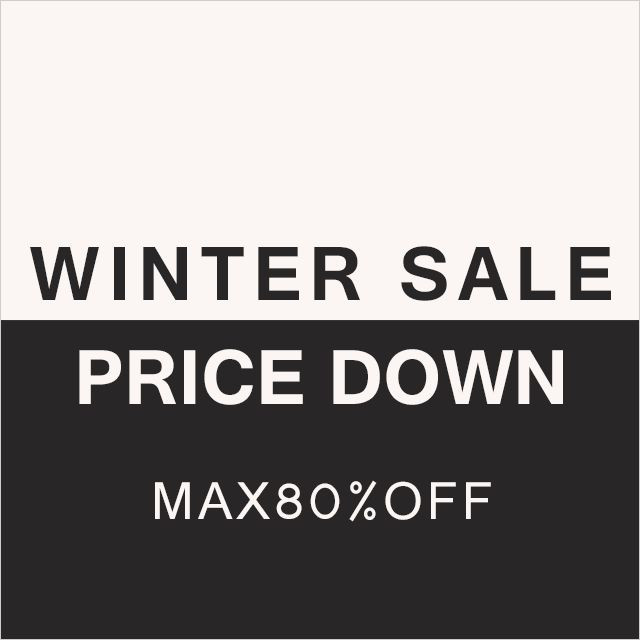 WINTER SALE PRICE DOWN MAX80%OFF
