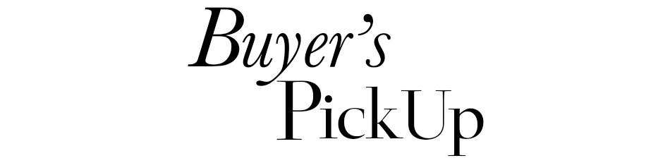 Buyer's PickUp 【Vol.3】