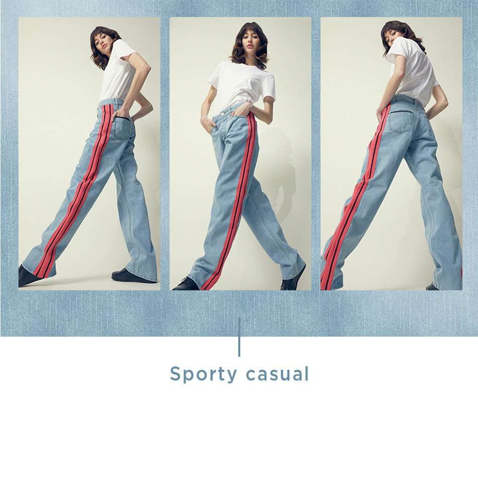 Sporty casual